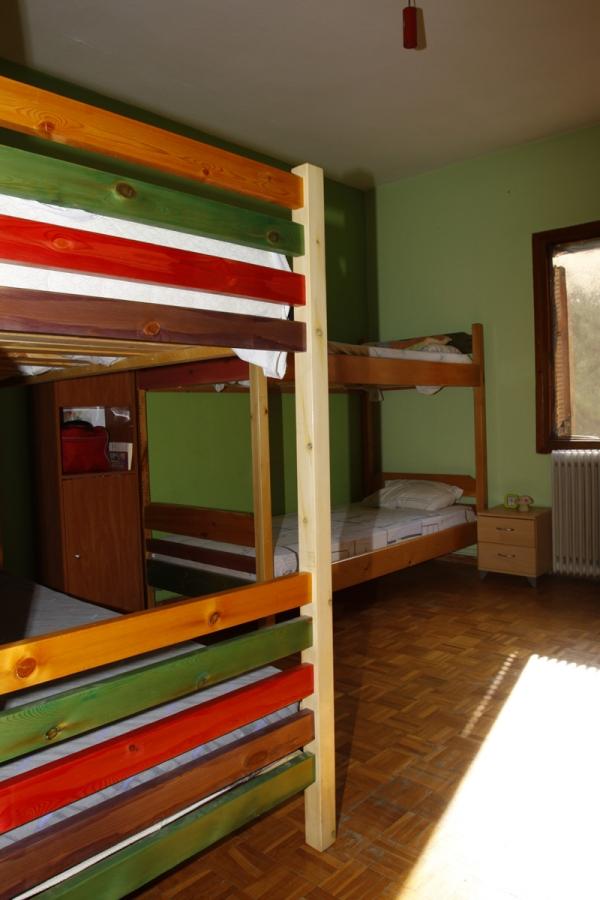 Μία φωτογραφία από το κρεβάτι στο κέντρο απεξάρτησης Πνοή στη Ζωή