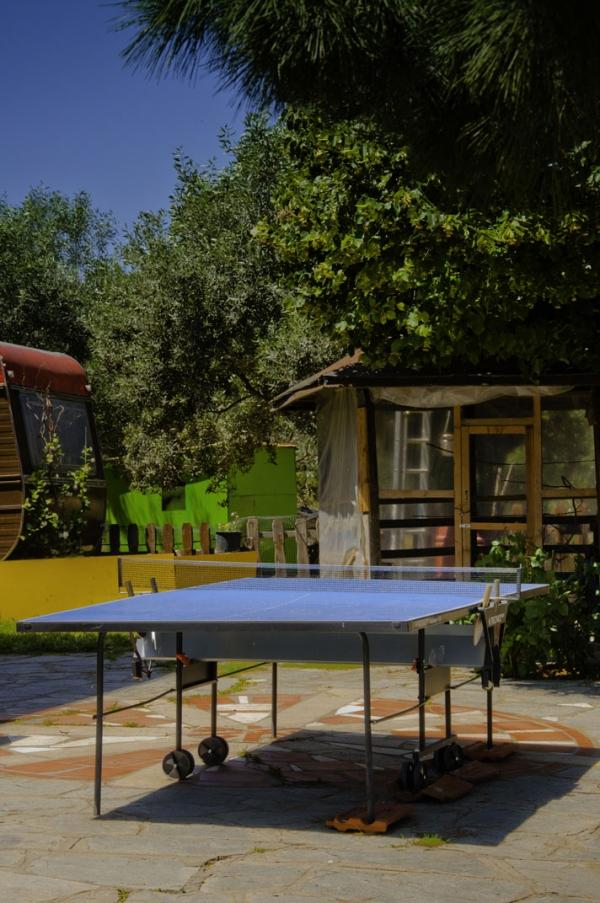 Το τραπέζι του ping pong